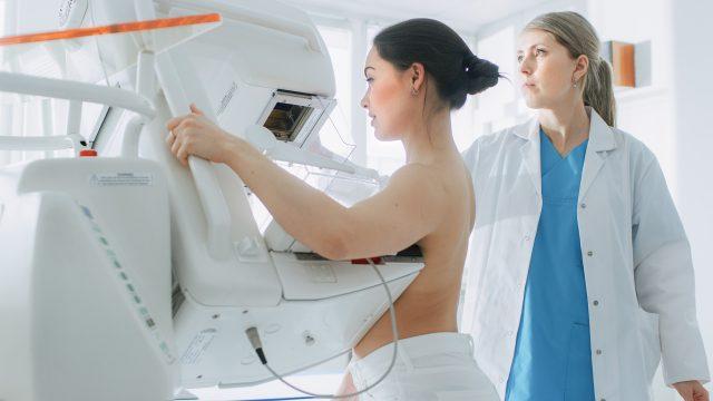 La mammographie, l'examen de dépistage du cancer du sein