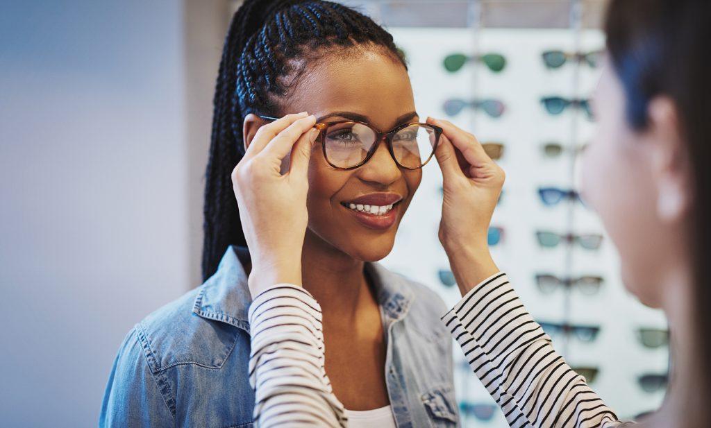 Achat paire de lunettes