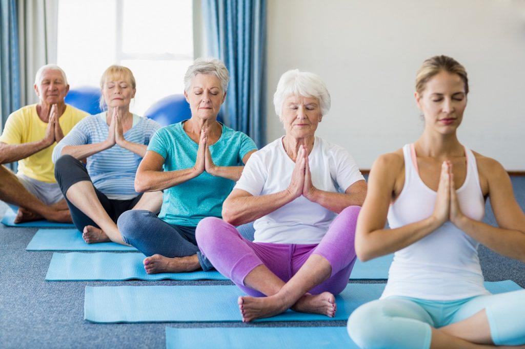 Quel yoga pour les seniors ?
